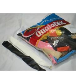 3012 - GLOBO QUALATEX FLOR CHICA 6 PULGADAS, TODAS UNITARIO