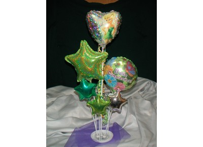 5103 - BASE MULTIPLE PARA 4 GLOBOS TRANSPARENTE