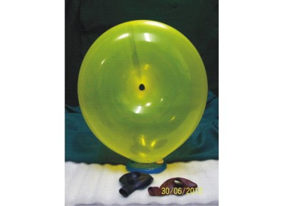 3015 - GLOBO QTX. DONA GRANDE COLORES STD. UNITARIO