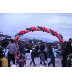 6417 - ARCO GRANDE DE GLOBOS PARA EVENTOS MASIVOS
