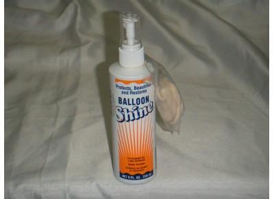 3072 - BALLOON SHINE BRILLO PARA GLOBOS LATEX 8 Oz C/GUANTE